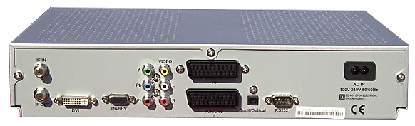 QualiTV QS1080IR Front View